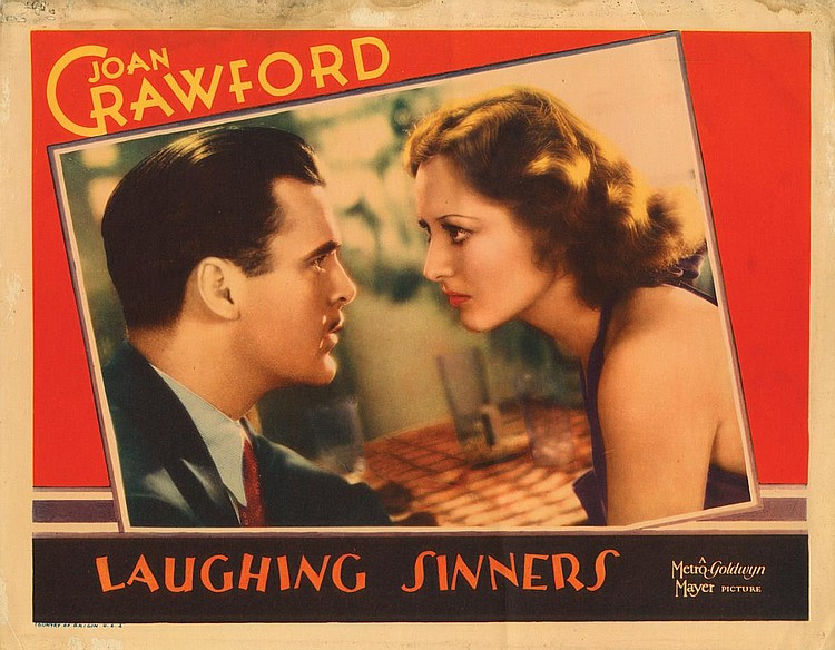 Joan Crawford and Neil Hamilton in Laughing Sinners (1931)