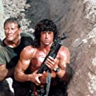 Sylvester Stallone and Richard Crenna in Rambo III (1988)