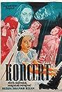 Koncert (1954) Poster
