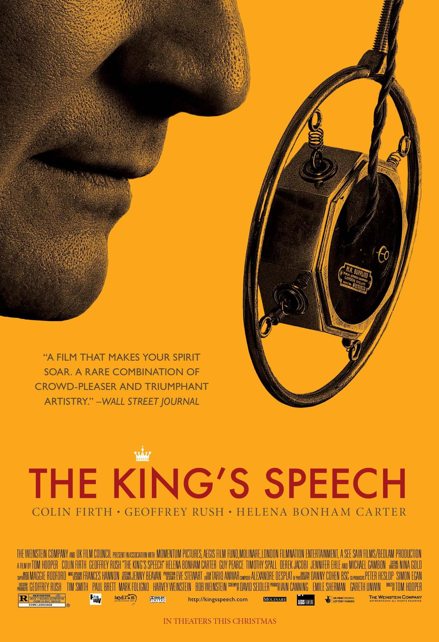 پوستر فیلم سخنرانی پادشاه