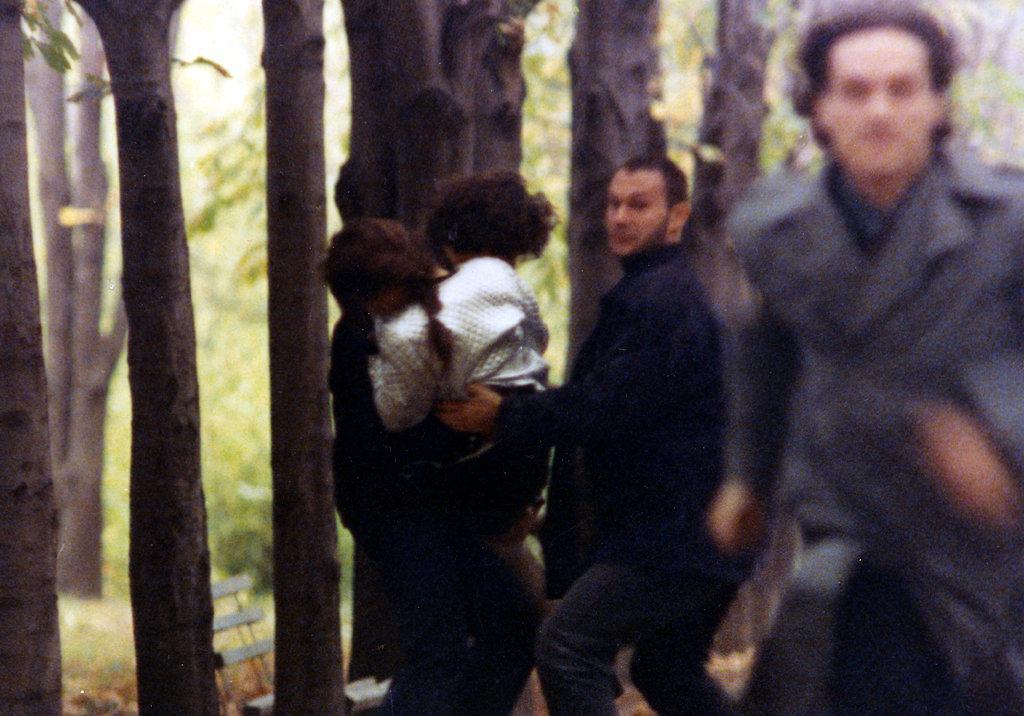 Rona Hartner, George Ivascu, Nicolas Masson, and Adrian Lapadat in Nekro (1997)