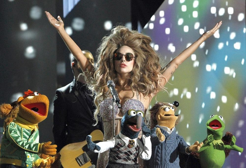 Lady Gaga in Lady Gaga  the Muppets Holiday Spectacular 2013