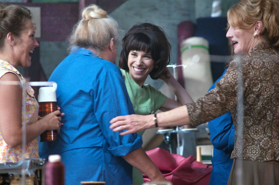 Geraldine James and Sally Hawkins in Made in Dagenham (2010)