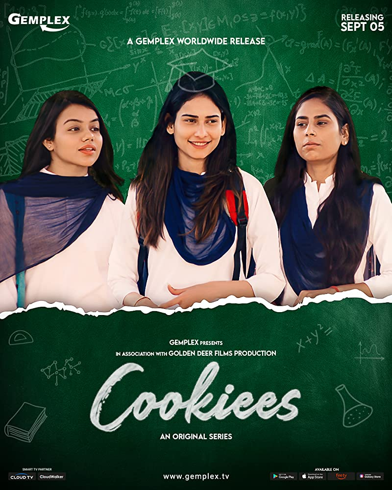 Cookiees S01 2020 Hindi Complete Mx Player Web Series 480p HDRip 400MB