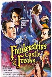 Frankenstein's Castle of Freaks Poster