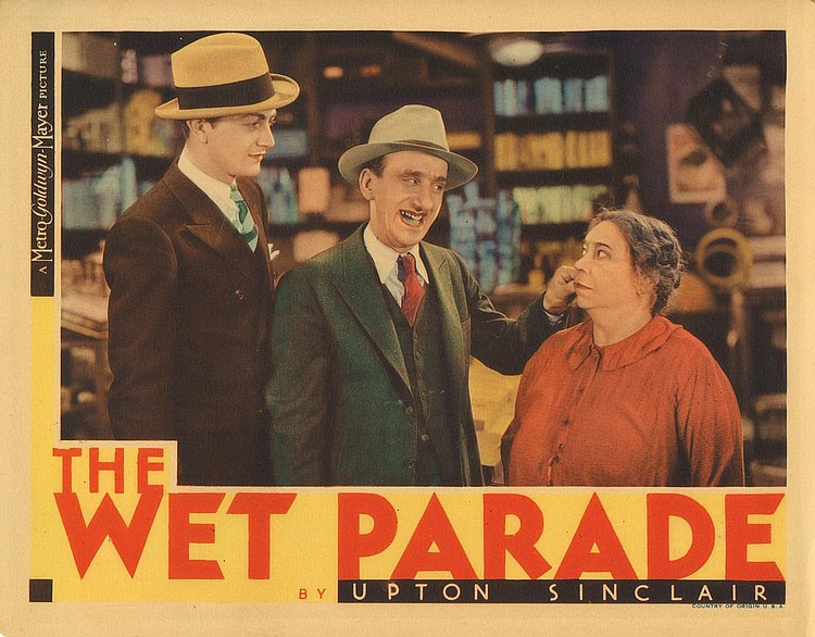 Robert Young, Jimmy Durante, and Emma Dunn in The Wet Parade (1932)