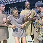 Kirk Douglas, Charles McGraw, Harold J. Stone, and Woody Strode in Spartacus (1960)