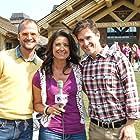 Brent Ridge, Josh Kilmer-Purcell, and Maria Prekeges in Sun Valley Harvest Festival-The Fabulous Beekman Boys (2012)