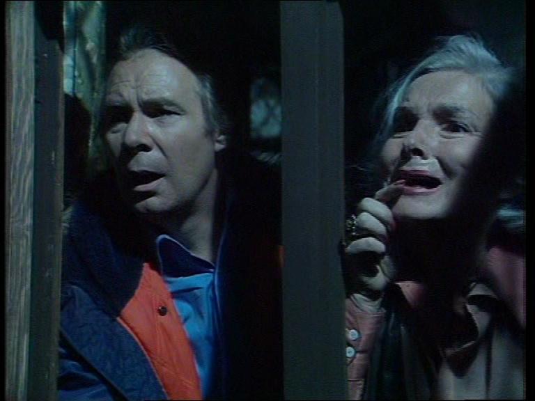 Anthony Bate and Elizabeth Sellars in Beasts (1976)
