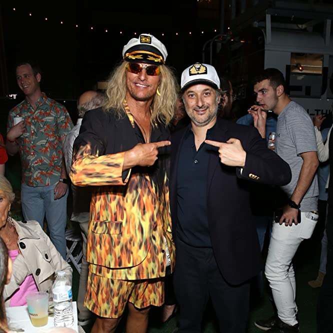 Matthew McConaughey and Harmony Korine at an event for The Beach Bum (2019)