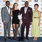 Kate Beckinsale, Adewale Akinnuoye-Agbaje, Gugu Mbatha-Raw, and Damson Idris at an event for Farming (2018)