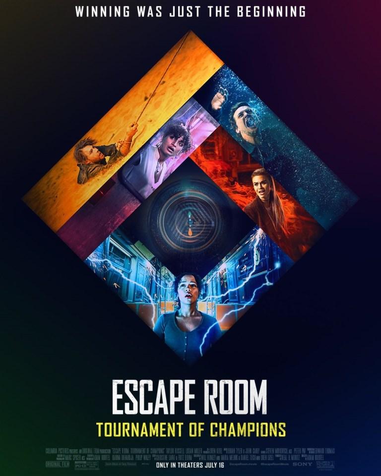 Phim Escape Room 2 - Escape Room: Tournament of Champions (2021)