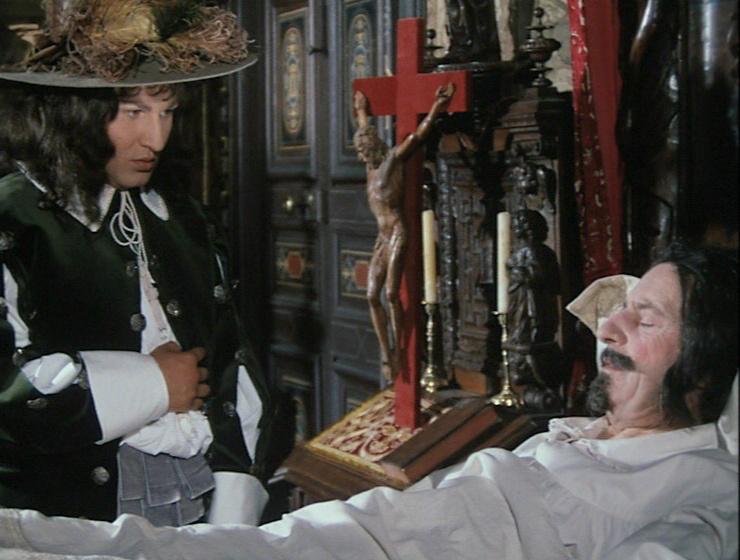 Jean-Marie Patte and César Silvagni in La prise de pouvoir par Louis XIV (1966)