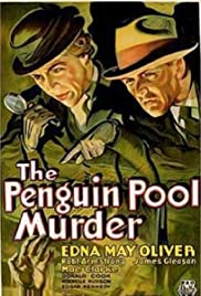 The Penguin Pool Murder Poster