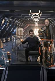 Patrick Stewart, Michelle Hurd, Alison Pill, and Santiago Cabrera in Star Trek: Picard (2020)