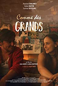 Pauline Chalamet and Dylan Raffin in Comme des grands (2021)