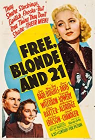 Lynn Bari, Mary Beth Hughes, and Henry Wilcoxon in Free, Blonde and 21 (1940)