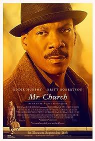 Eddie Murphy and Britt Robertson in Mr. Church (2016)
