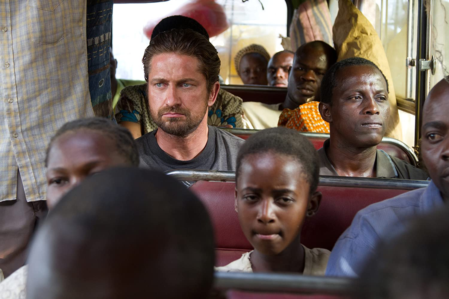 Gerard Butler and Souleymane Sy Savane in Machine Gun Preacher (2011)