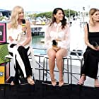Joely Richardson, Olivia Munn, and Emma Greenwell at an event for IMDb at San Diego Comic-Con (2016)