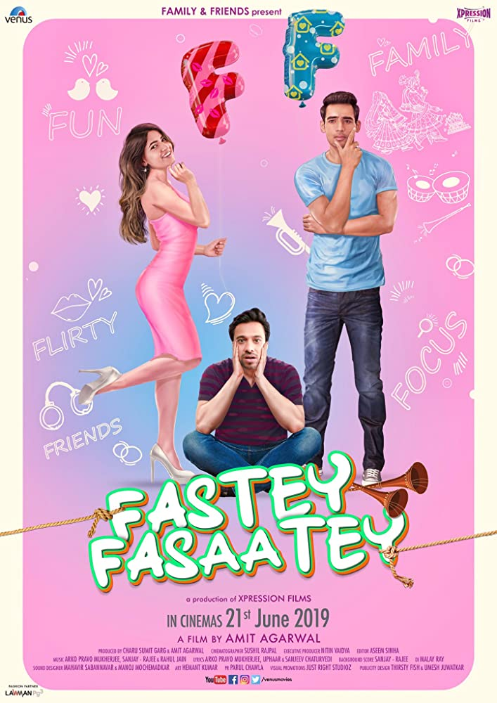Fastey Fasaatey 2019 Hindi Movie 355MB pDVDRip Download