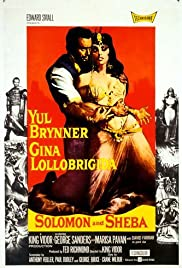 Solomon and Sheba (1959) Poster - Movie Forum, Cast, Reviews