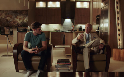 John Newberg and Aaron Tveit in Created Equal (2017)