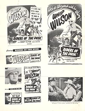 Lambert Hillyer Riders of the Dusk Movie