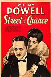 Street of Chance Poster