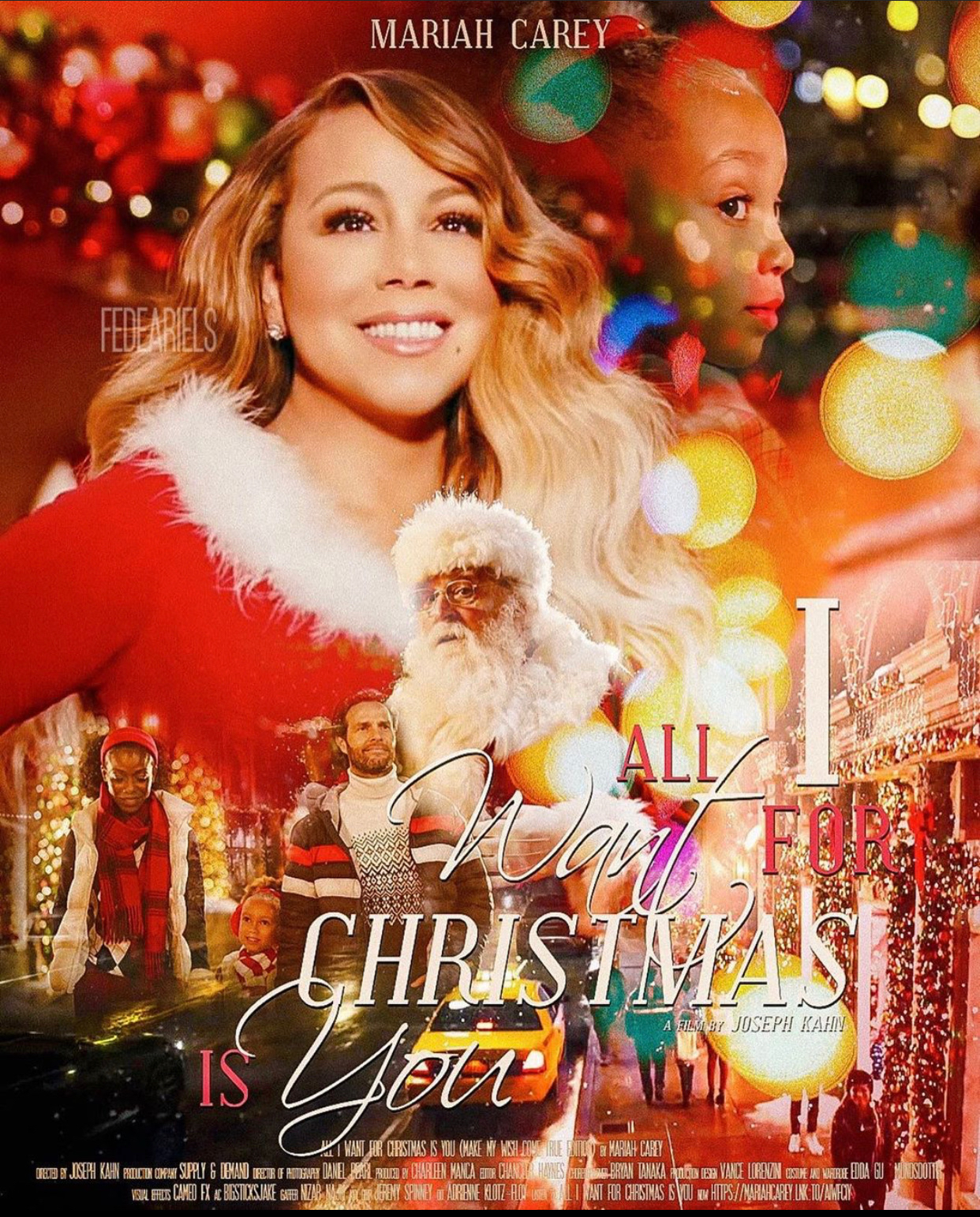 Mariah Carey: All I Want for Christmas Is You (Make My Wish Come True  Edition) (Video 2019) - IMDb