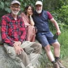Jana Pallaske, Marc Marshall, and Peter Wohlleben in Der mit dem Wald spricht - Unterwegs mit Peter Wohlleben (2018)