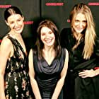 At the US premiere of Lovesick, with Jessica Paré and Ali Tataryn.