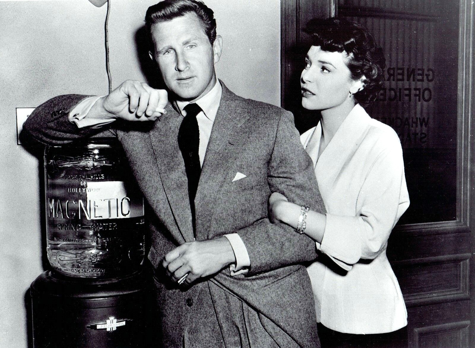 Anne Bancroft and Lloyd Bridges in The Kid from Left Field (1953)