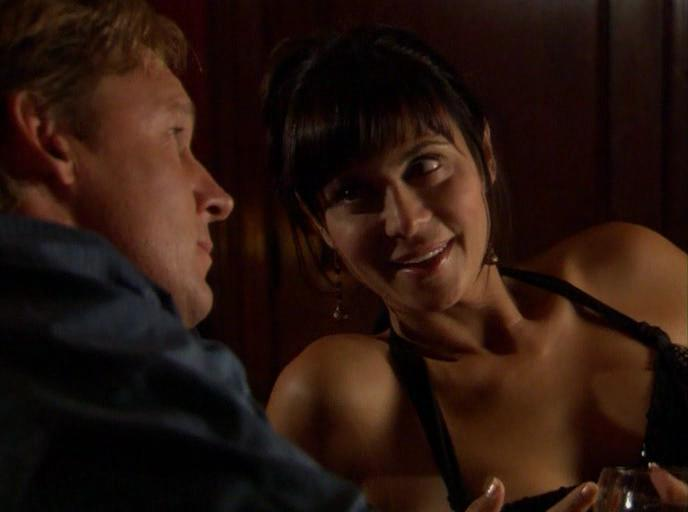 Catherine Bell and Chris Potter in The Good Witch (2008)