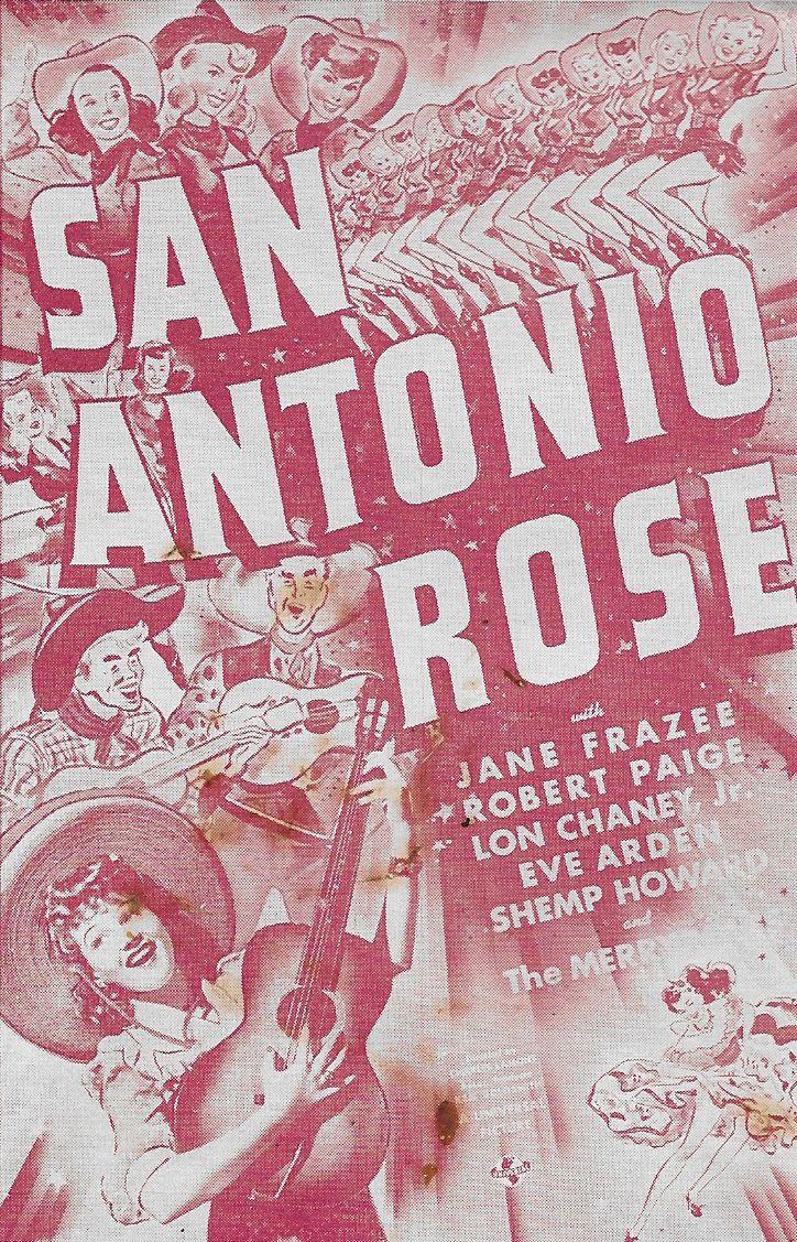 Jane Frazee in San Antonio Rose (1941)