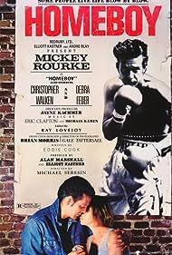 Mickey Rourke and Debra Feuer in Homeboy (1988)