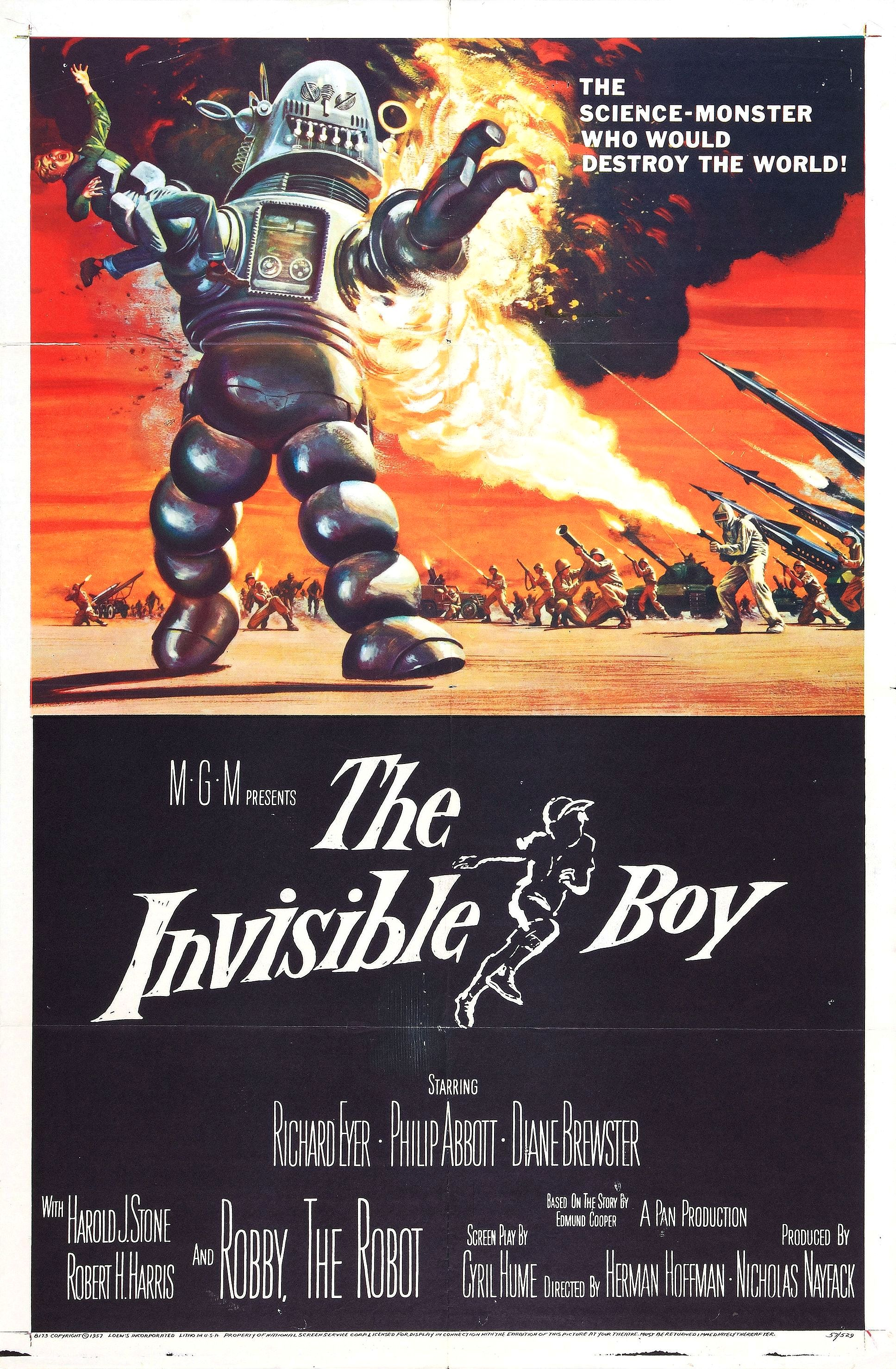 The Invisible Boy 1957 Imdb Phillips 7 Pin Trailer Connector Wiring Diagram