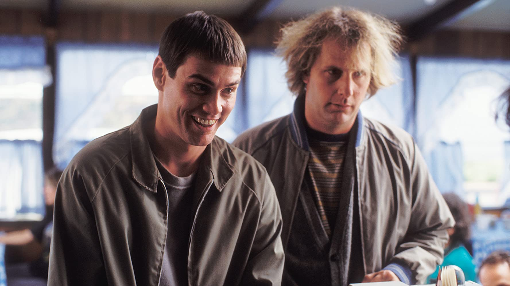 Jim Carrey and Jeff Daniels in Dumb and Dumber 1994