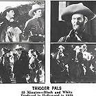Ted Adams, Dorothy Fay, Arthur Jarrett, Lee Powell, and Al St. John in Trigger Pals (1939)