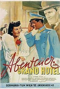 Primary photo for Abenteuer im Grandhotel