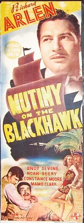 Christy Cabanne Mutiny on the Blackhawk Movie
