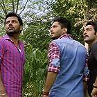 Manav Vij, Jassie Gill, and Raj Singh Jhinger in Dil Vil Pyaar Vyaar (2014)