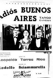 Adiós Buenos Aires Poster