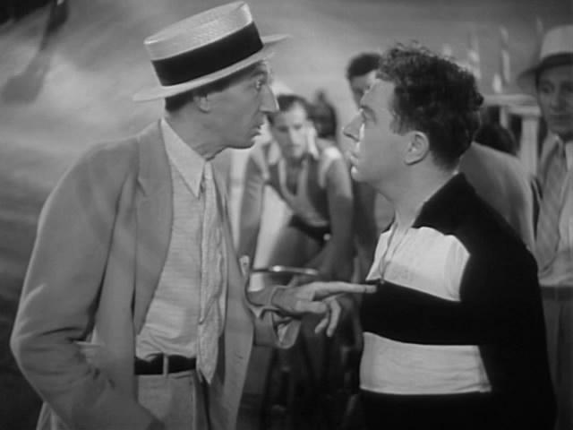 Arthur Aylesworth and Frank McHugh in 6 Day Bike Rider (1934)