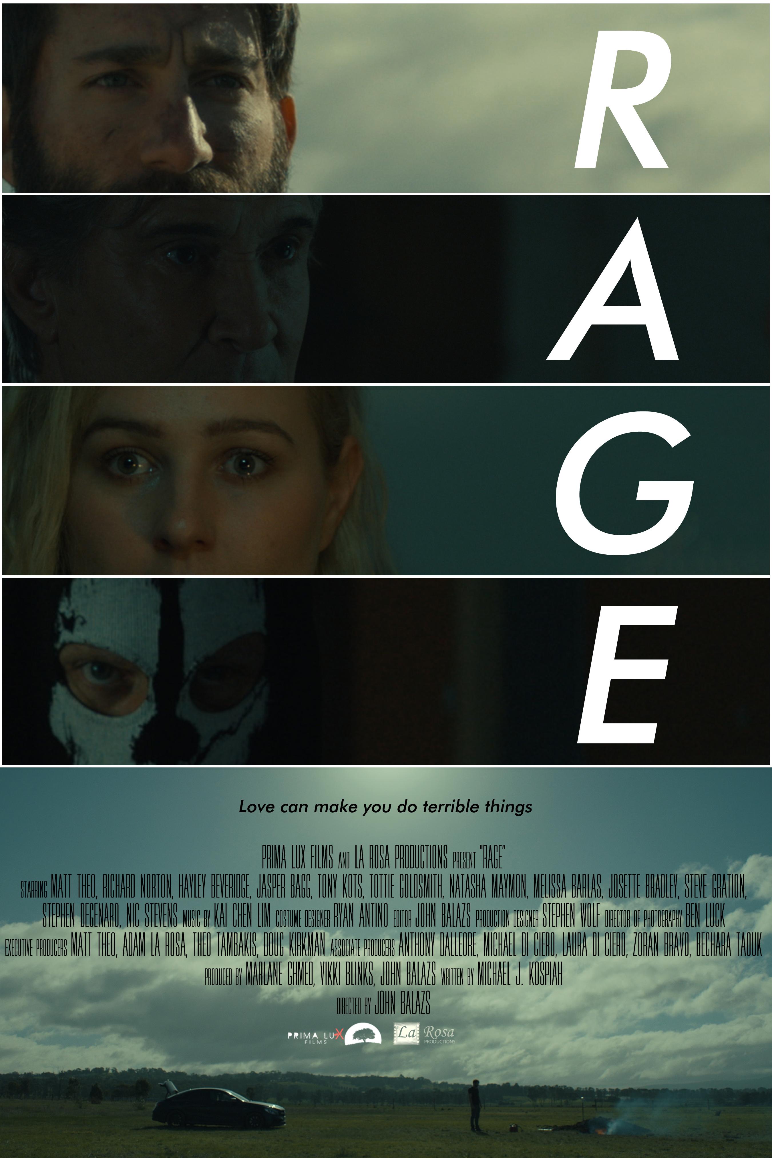 Sinopsis dan Profil Pemeran Film Rage 2021 || Duniamasa.com