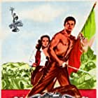 Cornel Wilde and Teresa Wright in California Conquest (1952)