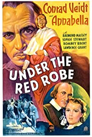 Annabella, Romney Brent, Lawrence Grant, Raymond Massey, Sophie Stewart, and Conrad Veidt in Under the Red Robe (1937)