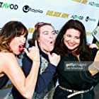 Ann Marie Allison, Betsy Sodaro and Jenna Milly at the Golden Arm premiere April 30 in Los Angeles.