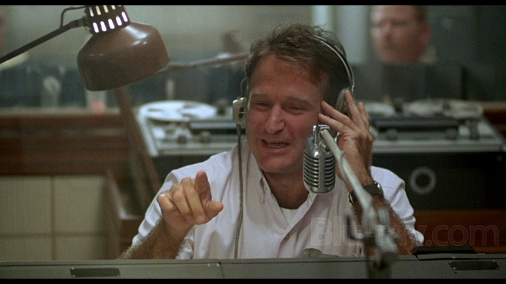 Image result for photo of Robin Williams in Good Morning Vietnam