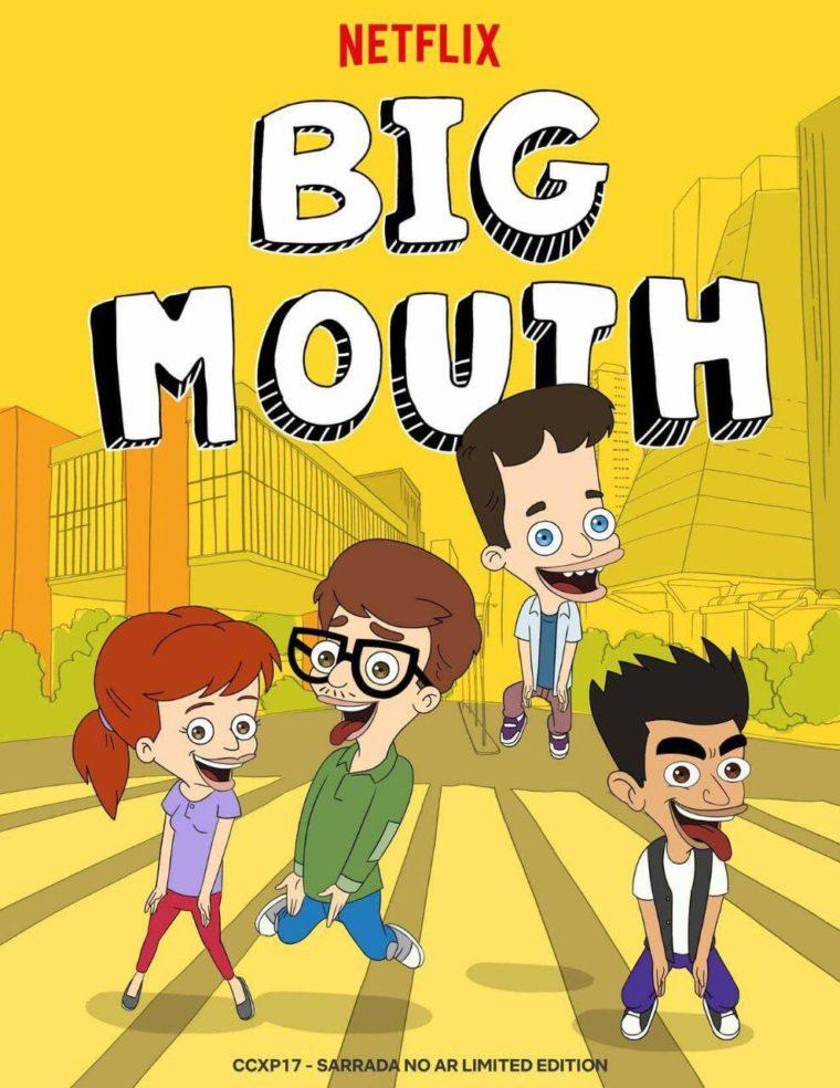 Big Mouth Season 4 Poster